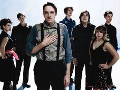 A banda canadense de indie rock Arcade Fire é uma das principais atrações do Festival Lollapalooza em 2014 (Foto: Divulgação)