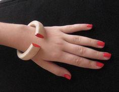 Wooden bracelet by Stelakastela on Etsy