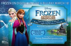 Win an Adventures by Disney Trip to Norway, the Land that Inspired Disney's 'Frozen' Disney Tips, Disney Love, Disney Frozen, Disney Destinations, Hits Movie, Norway Travel, Adventures By Disney, Disney California Adventure, Disney Family