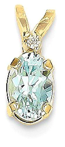 EternalDia 14K White Gold Over Sterling Silver Peridot Devil Heart Pendant Necklace with Simulated Diamond 18
