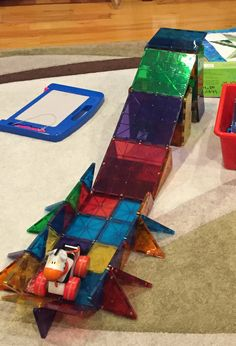Getting your kid started with Magnatiles