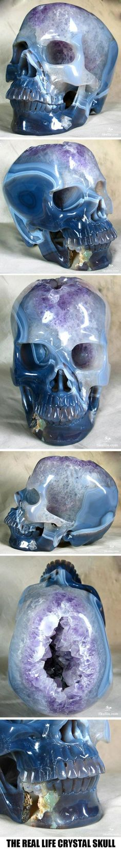 The Real Life Crystal Skull!