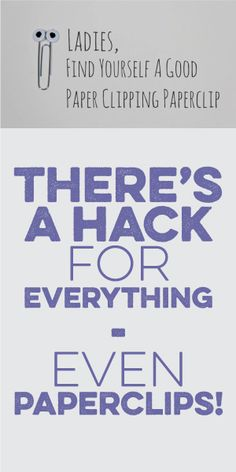 There's A Hack For EVERYTHING... Even Paperclips!