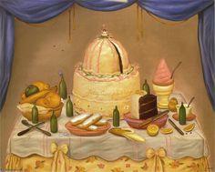 """""""bon anniversaire"""" de Fernando Botero Angulo"""