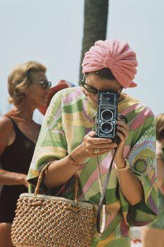 Grace Kelly in Monte Carlo in 1972. See 51 more rare, vintage photos of celebrities enjoying summer.