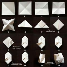 Read our step-by-step tutorial on how to make bedroom string lights with origami paper lanterns. They make gorgeous DIY bedroom decor! Cube Origami, Origami Easy, Origami Paper, Diy Paper, Paper Crafts, Diy Crafts, Origami Frog, Modular Origami