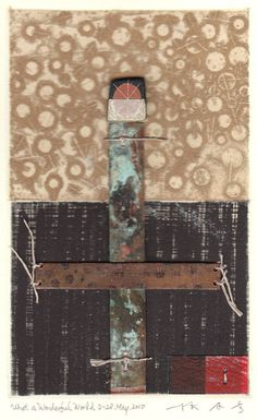 HAYASHI Takahikopainting,collage on original printed paperD-28.May.2010