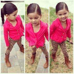 I love cheeta on little girls