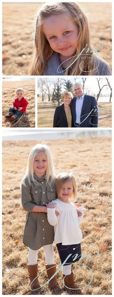 Longmont extended family photos | Boulder, Colorado photographer | family photo ideas | big family photo posing ideas | grandparents, parents, and grandchildren photos | outdoor natural light family session | winter photo session | large family photography ideas | www.jennimaroney.com | Jenni Maroney Portrait Boutique
