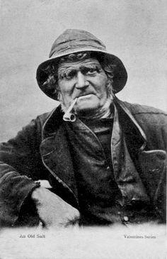 Old Fashioned Fishermans Jumper