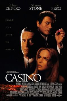 Robert De Niro and Sharon Stone in Casino Martin Scorsese, Casino Movie, Casino Theme, Casino Party, Good Movies To Watch, Great Movies, Movies Showing, Movies And Tv Shows, John Dunn