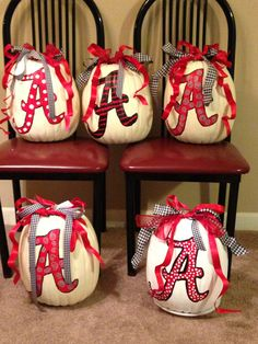 My Alabama pumpkins!