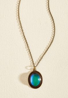 Aura You Ready? Mood Necklace, #ModCloth
