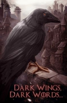 Dark Wings, Dark Words by EvaMariaToker.deviantart.com on @deviantART