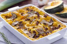 Lasagne al radicchio e Montasio Ricotta, Arancini, Carne, Lasagna, Mashed Potatoes, Macaroni And Cheese, Casserole, Food And Drink, Favorite Recipes