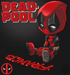 Chibi Deadpool by Darkness1999th