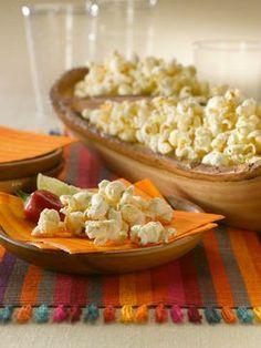 Chipotle Ranch Popcorn - love a good Saturday night snack!