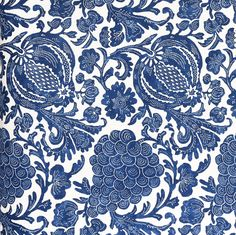 Java Batik, Indigo Fabric – Tonic Living