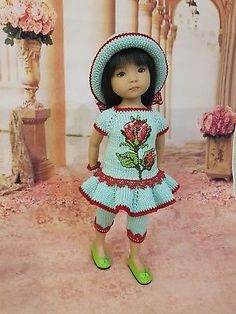 "Ооак наряд для куклы Дианна Effner Little Darling 13"""