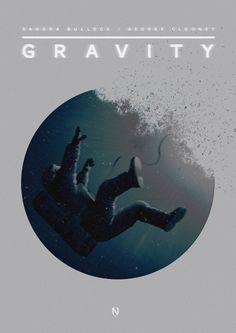 Gravity - Alternative Movie Poster by Matt Needle