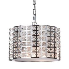 Artcraft Lighting Coventry 12-in Chrome Standard Pendant Light with Metal Shade