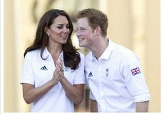 Prince Harry Photos - Will, Kate and Harry receive the Olympic Torch - Zimbio