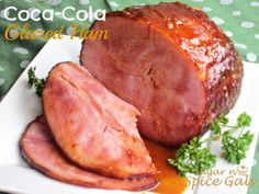 Sugar n' Spice Gals: Cola Glazed Holiday Ham. The perfect Christmas Dinner idea  http://www.sugar-n-spicegals.com/2012/12/cola-glazed-holiday-ham.html
