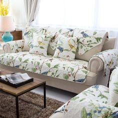 latest design sofa covers havertys newport table 29 best 2016 modern cover designs images couch new arrival cotton printed jacquard floral combination kit sectional l shaped