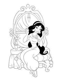 Princess Belle Coloring Pages | Blog: Coloring Books--Princesses ...