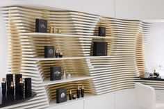 Undulating Boutique Interiors - This Houston Cosmetics Store Boasts a Stunning Whiteout Interior (GALLERY)
