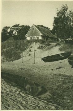 Nidden, Schornsteinloses Fischerhaus