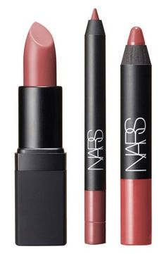NARS 'Fantascene - Neutral' Lip Set (Limited Edition) ($57 Value) | Nordstrom. NARS Fantascene is a limited-edition holiday collection created with photographer Steven Klein that plays an exquisite fantasy to extremes.The Neutral Lip Set features a creamy liner, cult-classic lipstick and coveted matte lip pencil in one pretty package, delivering you with a triple hit of iconic nudes for every mood