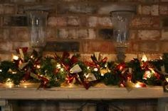 christmas garlands - Bing images