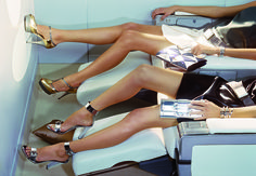 """vogue: """" Why the holiday break is actually the perfect time to get laser hair removal. Photographed by Miles Aldridge, Vogue, 2007 """" Hair Removal Methods, Laser Hair Removal, Anti Aging, Mystic Girls, Miles Aldridge, Best Airlines, Shaving Razor, Holiday Break, Upper Lip"""