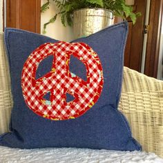 Pretty Pillow cover only 20x20 by TheSimpleCottageMN on Etsy