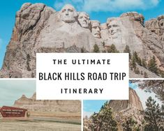 Planning a Mount Rushmore Vacation? This Black Hills road trip itinerary is based in Rapid City, South Dakota and takes you to Mount Rushmore, Crazy Horse, the Badlands, and more! Family and couples friendly! Family Vacation Destinations, Dream Vacations, Vacation Trips, Day Trips, Vacation Ideas, Family Vacations, Cruise Vacation, South Dakota Vacation, South Dakota Travel