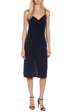 Ella Moss Women's Serene Velvet Midi Dress