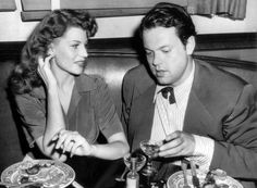 """He was tormented, possessive, insecure...a genius, crazy like a horse, and a marvelous man, completely unaware of reality...I couldn't take his genius any longer.""  ― Rita Hayworth, on why she divorced Orson Welles"