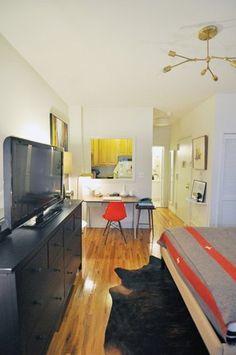 Evan's Modern & Cozy Manhattan Studio — House Tour | Apartment Therapy