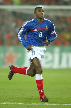 Marcel Desailly (FRANCE)  born Odenke Abbey; 7 September 1968 in Accra, Ghana) is a retired Ghanaian born French footballer and star of the France national football team squad, with whom he won the 1998 World Cup and Euro 2000.