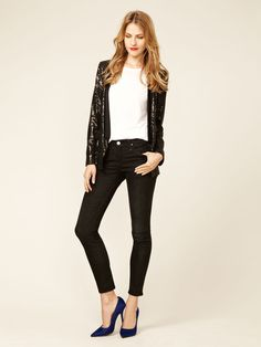 Frontier Cropped Skinny Jean by Goldsign on Gilt.com