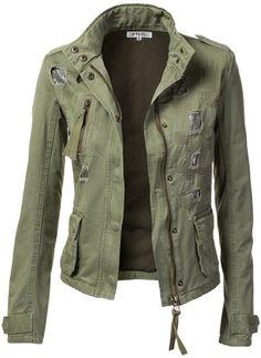 https://www.stitchfix.com/referral/6464199 9Xis Women's Military Anorak Jacket with Pockets