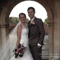 Real bride Daisy looks absolutely stunning in 'Cadenza' by Anna Sorrano  She looks simply sensational  Could this be 'the one' for you?  Please share your photos with us by emailing info@wed2b.co.uk
