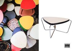 We are in love with formica tables! Get one for yourself starting from € 80 // Estamos enamoradas de las mesas de formica! Consigue una a partir de € 80