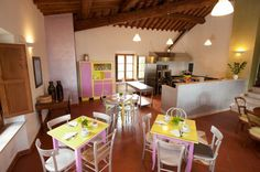 Our B&B Antico Granaione in the Southern Province of Siena, close to the thermal springs of Rapolano Terme!
