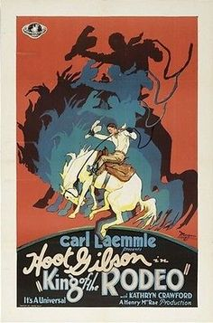 KING OF THE RODEO MOVIE POSTER Carl Laemmle HOT VINTAGE - PRINT IMAGE PHOTO -PW5