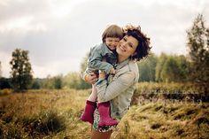 O momentach i życiu na podstawie sesji matczyno-córkowej