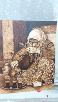 Karadeniz kadını olmazsa olmazı çay Wood Burning Crafts, Wood Burning Patterns, Wood Burning Art, Wood Crafts, Kinds Of Lines, Flight Patterns, Deer Pattern, Plant Design, Wood Planks