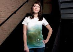 """Secret Lake"" - Threadless.com - Best t-shirts in the world"