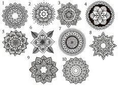 mandala circle tattoos More